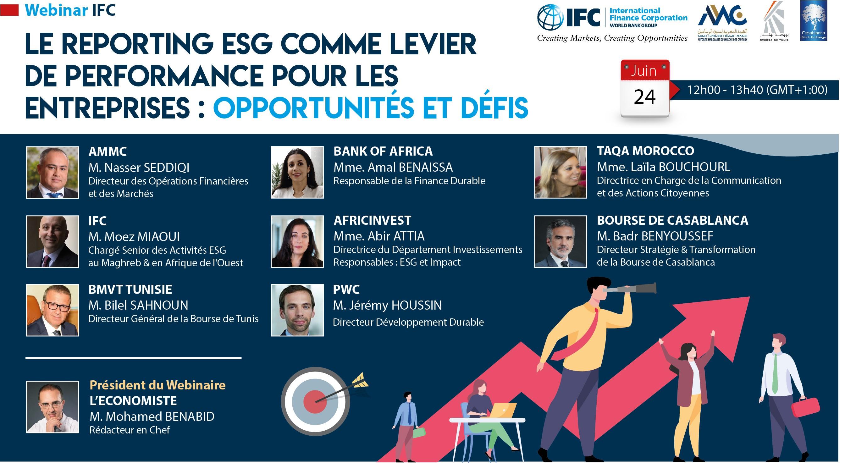 La SFI sensibilise aux enjeux du reporting ESG