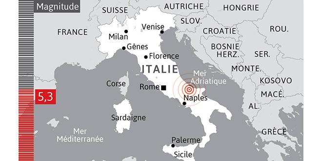 Séisme en Italie