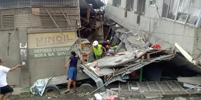 Violent séisme au sud des Philippines
