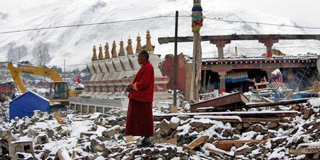 Un séisme frappe le Tibet
