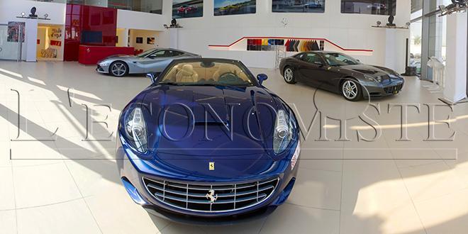 130 Ferrari au Maroc