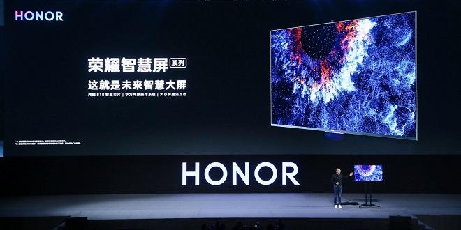 Huawei dévoile sa première smart TV