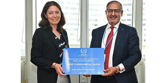 L'AMSSNuR désignée 1er centre collaborateur africain de l'AIEA