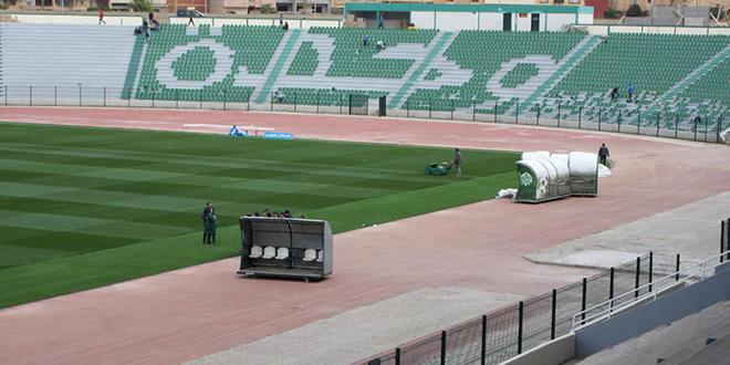 Oujda : le Stade d'Honneur fait peau neuve