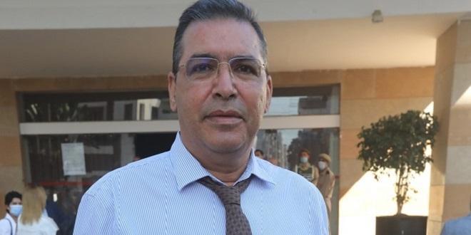 Omar Sentissi, nouveau maire de la ville de Salé