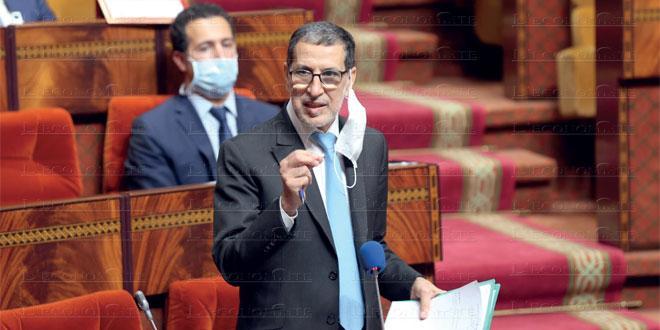 Sahara: El Othmani fait le point devant les députés