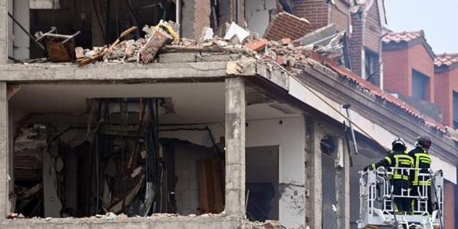 Explosion au centre de Madrid : au moins deux morts
