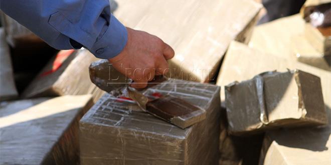 Mohammedia: Près de 2,5 tonnes de drogue saisies