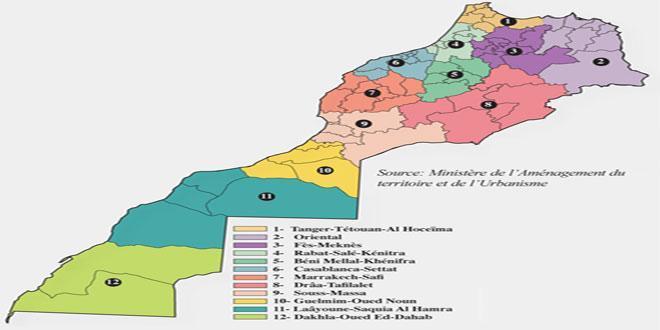 Les présidents des Conseils des 12 régions