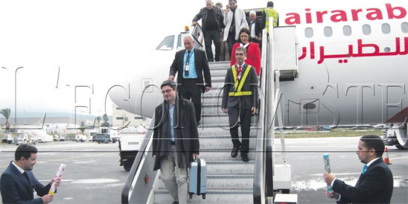 Aérien: Tanger sur le chemin de la croissance