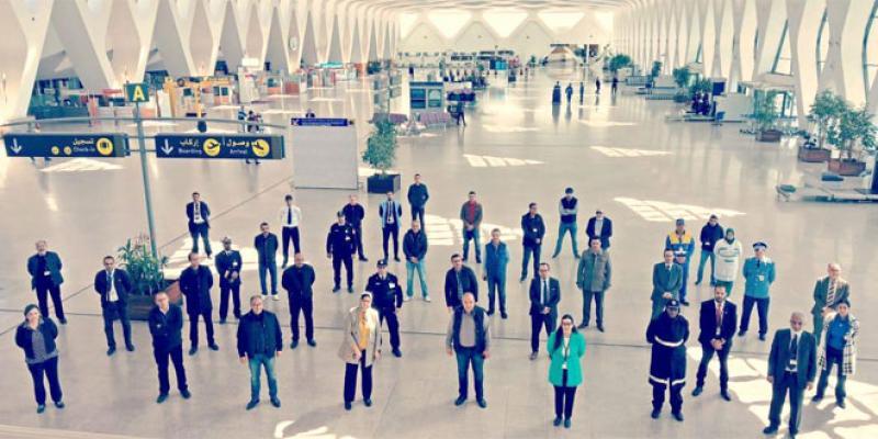 Coronavirus - Rapatriement des étrangers bloqués au Maroc: Fin de mission pour l'aéroport de Marrakech
