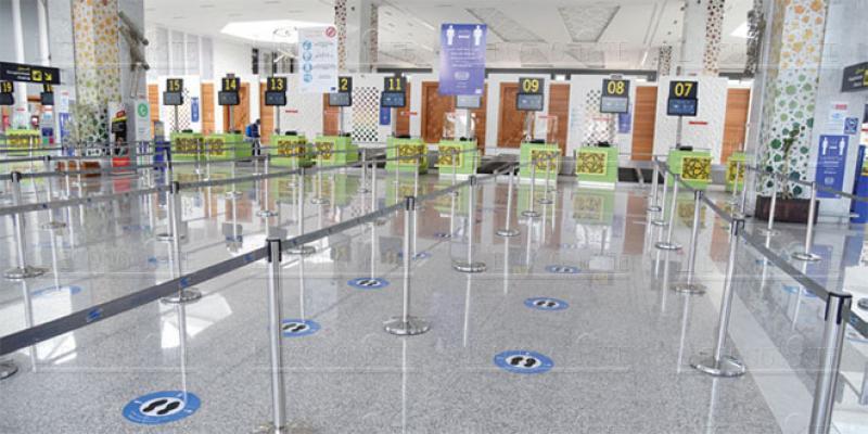 Aéroports: Les MRE ont permis de récupérer 65% du trafic