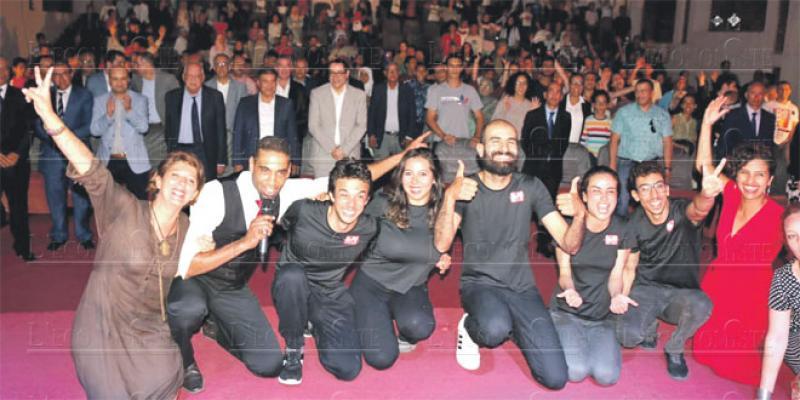 Agadir/Théâtre: Un public en délire pour La Marocaine d'Impro