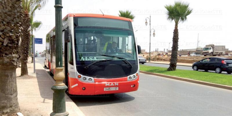 Rabat/Transport urbain: Pas de logo, pas de bus