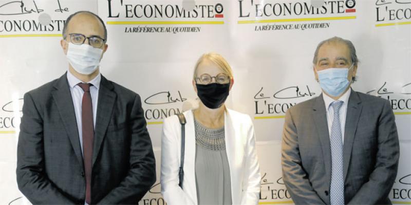 L'ambassadrice de France en visite à Eco-Médias