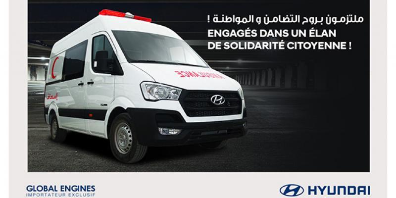 Covid-19: Global Engines fournit 25 ambulances équipées