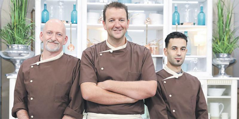 Amoud au «Meilleur pâtissier» de M6