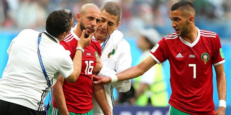 Commotion, critiques sur l'arbitrage... Amrabat fait réagir la FIFA