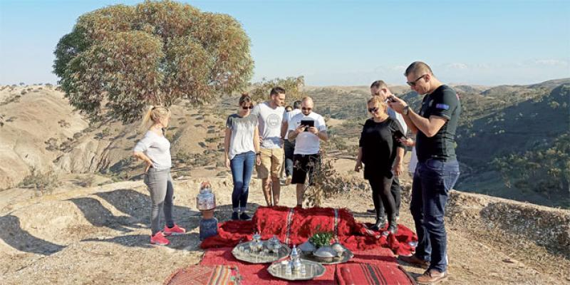 Un nouveau jeu digital très «outdoor» à Marrakech
