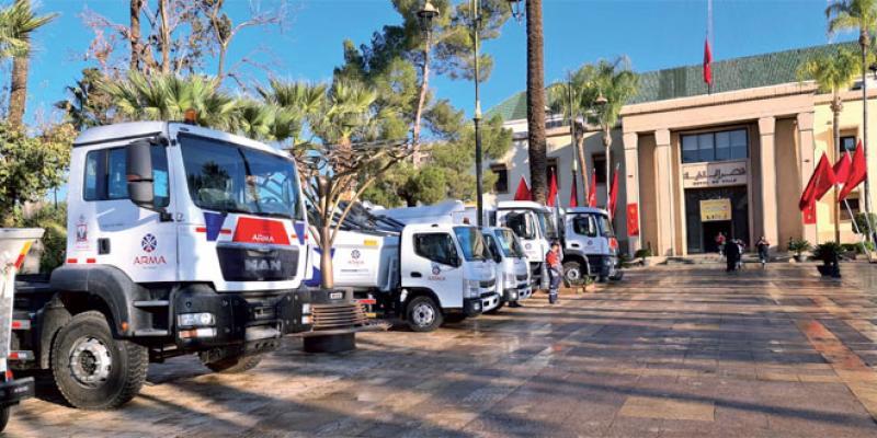 Marrakech: Le nouveau visage des services de propreté