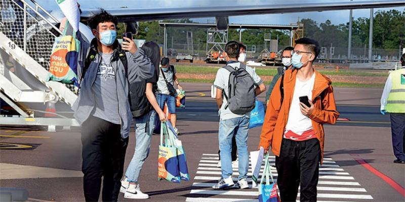 Australie: Des étudiants étrangers pour la première fois depuis le lockdown