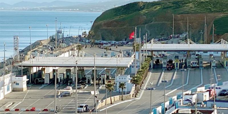 Sebta: Un nouvel accès à la frontière côté espagnol