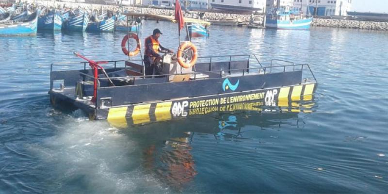 Des barges de dépollution 100% marocaines!