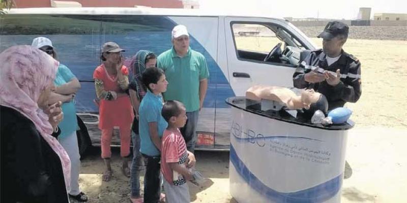 Barrages: Une caravane pour prévenir les noyades