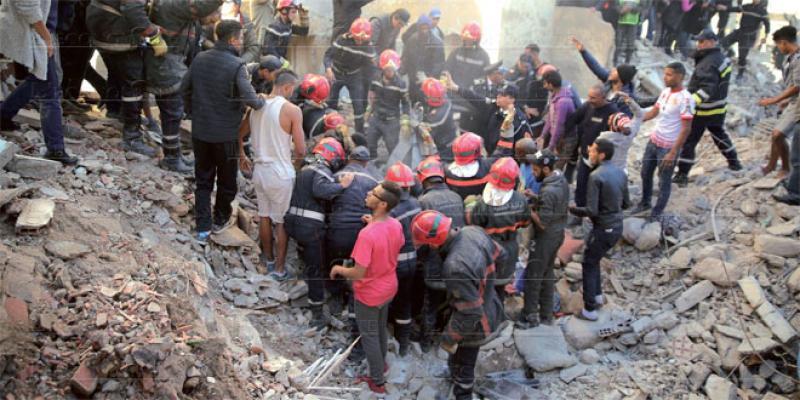 Bâtiment menaçant ruine: Les interventions seront coordonnées