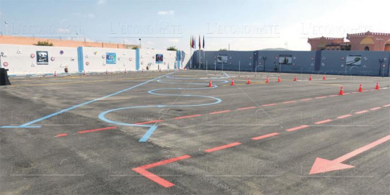 Berkane: Une piste à circuit fermé pour passer son permis