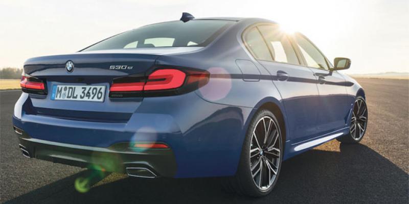 BMW: Cure d'embellissement pour la Série 5