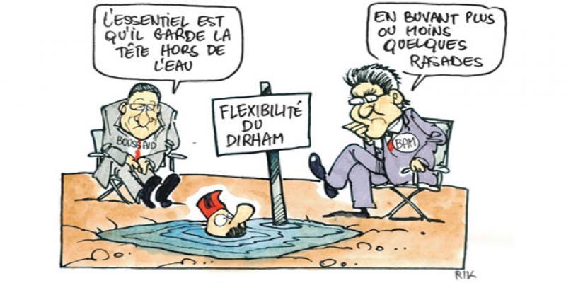 Flexibilité du dirham: Boussaid et Jouahri assurent le service après-vente