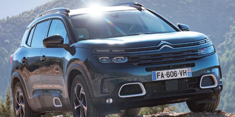 C5 Aircross: Le baroudeur tout confort de Citroën