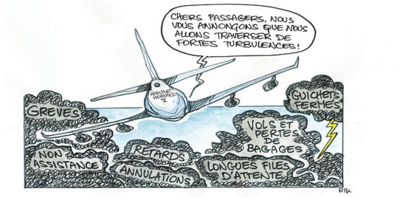Aéroport Mohammed V: Quelle pagaille!