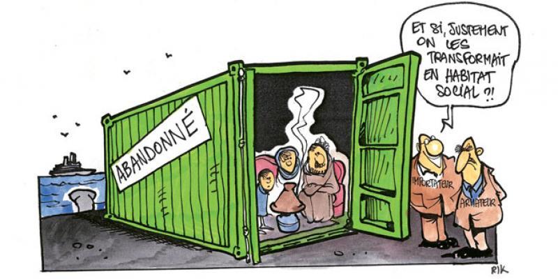 Coup de balai aux marchandises abandonnées aux ports