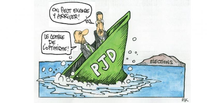 Elections: La 1re place s'éloigne de jour en jour pour le PJD
