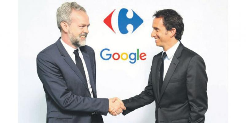 Alliance entre Carrefour et Google sur le digital