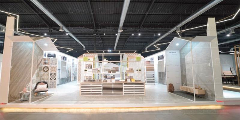 Carrelage et sanitaire: Nouveau concept de salon permanent