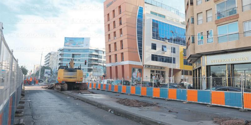 Casa-Busway: La cadence des travaux s'accélère