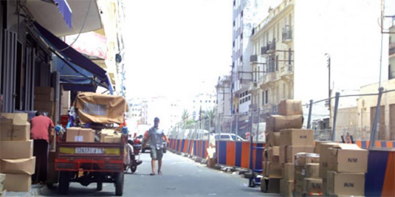 Casablanca: Le chaos au centre-ville