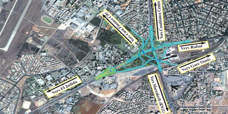 Casablanca/Circulation: Le Nœud «A» sera bientôt livré