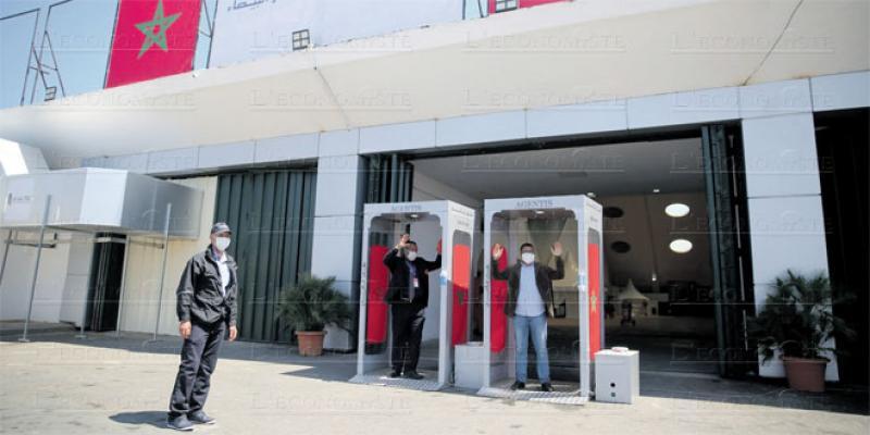 Casa-Settat: L'hôpital de campagne prêt à accueillir ses premiers patients