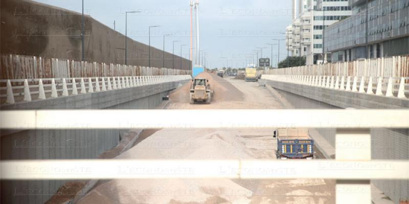 Casablanca: L'interminable chantier de la trémie des Almohades...