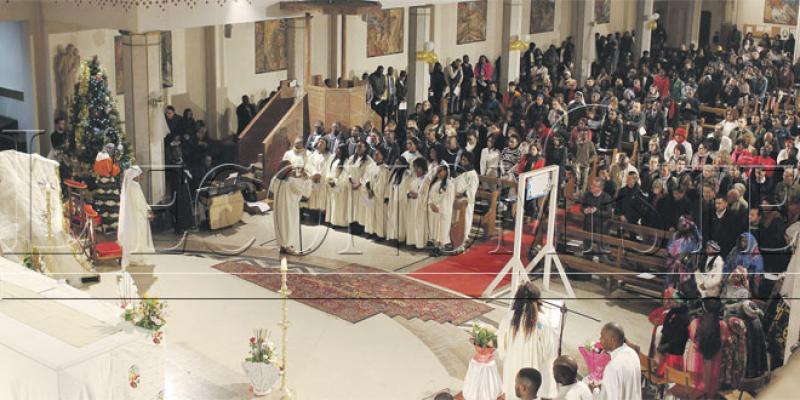 Célébrations à la cathédrale de Rabat