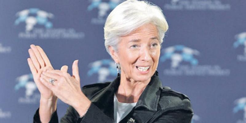«Tenir la barre pour ne pas dériver», le message de Lagarde