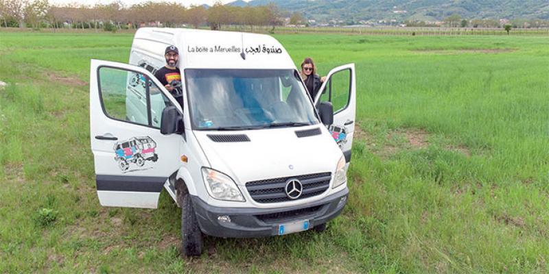 Une caravane cinéma pour les douars