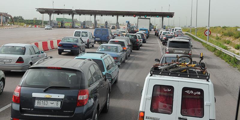 Autoroutes: Voici les périodes de gros trafic