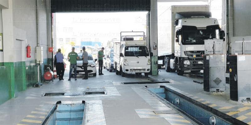 Contrôle technique: Environ 60% des véhicules en retard traités