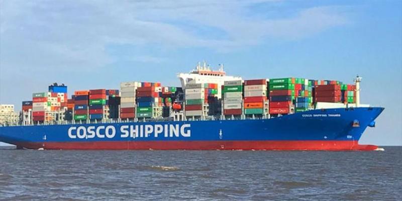 Transport maritime: Cosco Shipping lance une desserte directe