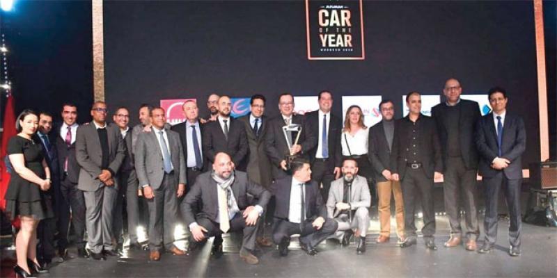 Volvo S60 sacrée Coty Morocco 2020